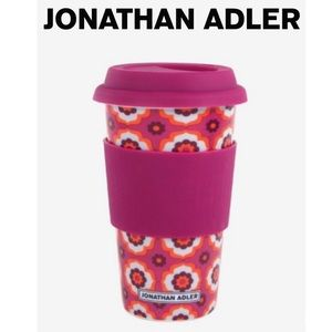 Jonathan Adler Floral Travel Mug
